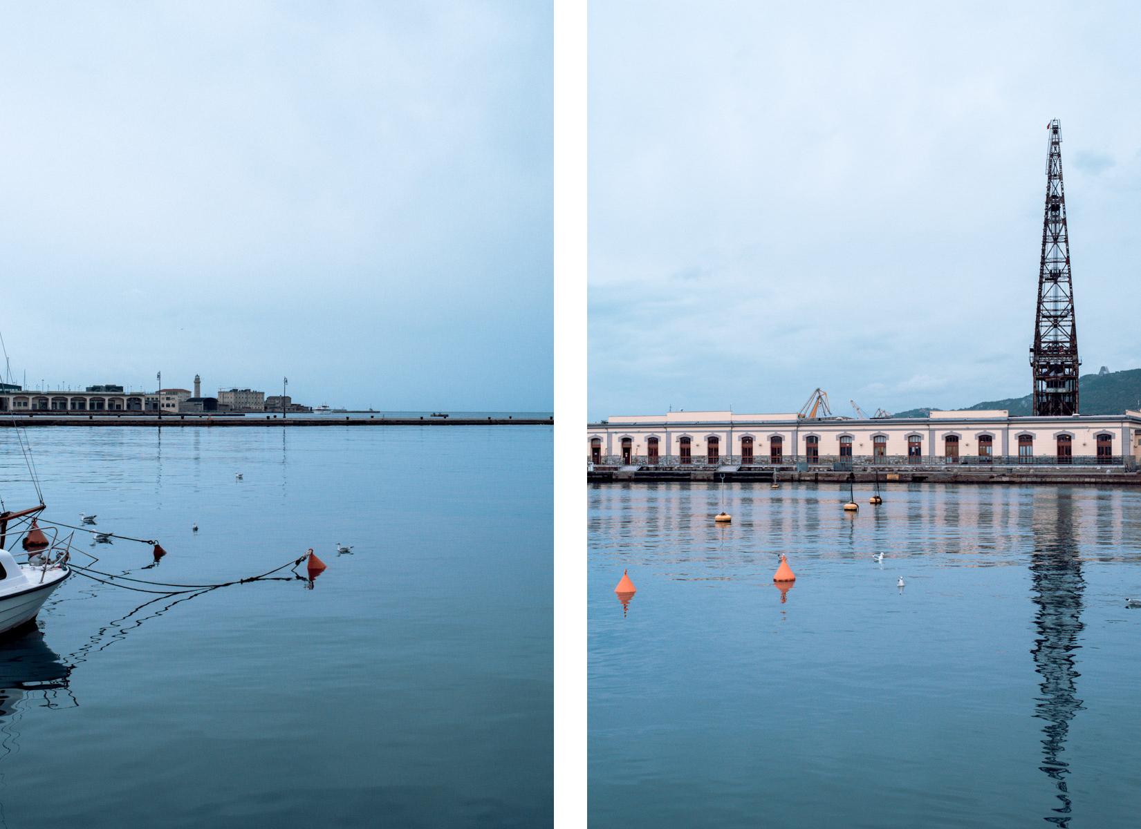 Il mare e il porto di Trieste - Sea and harbour of Trieste