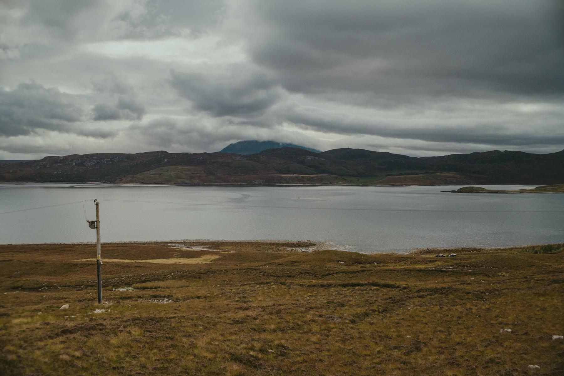 Landscape in Isle of Skye, Scotland - Paesaggio nell'Isola di Skye in Scozia