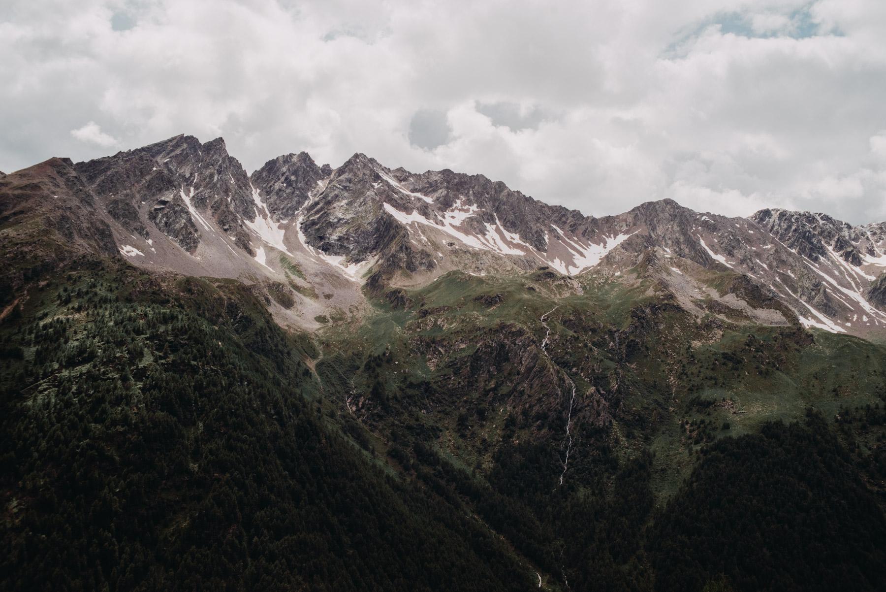 Stelvio Pass, Gavia pass, Bormio Mountans and Valtellina Mountains